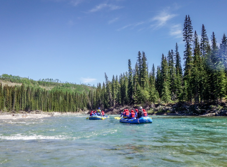 Rafting Red Deer River Sundre Alberta