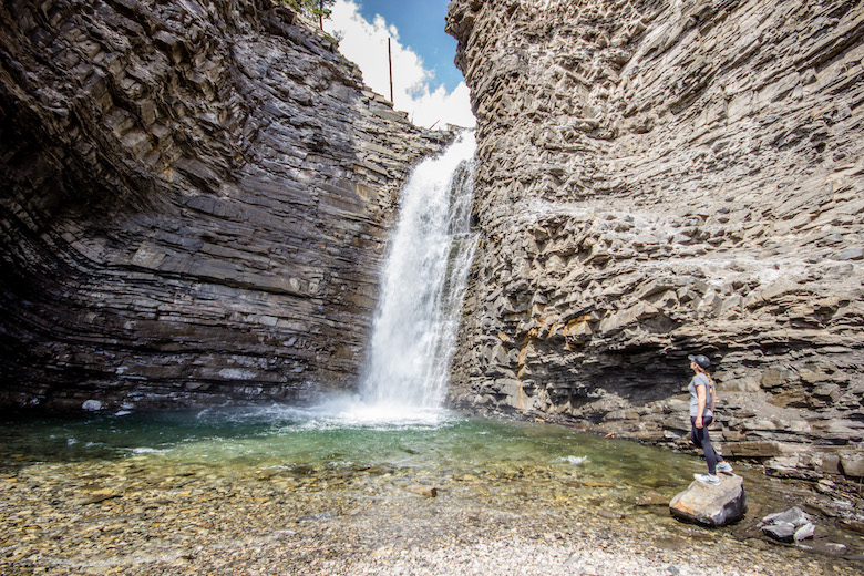 Big Horn Falls Ya-Ha Tinda Sundre, Alberta