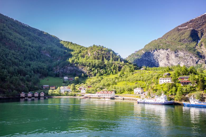 Flam, Norway fjord safari