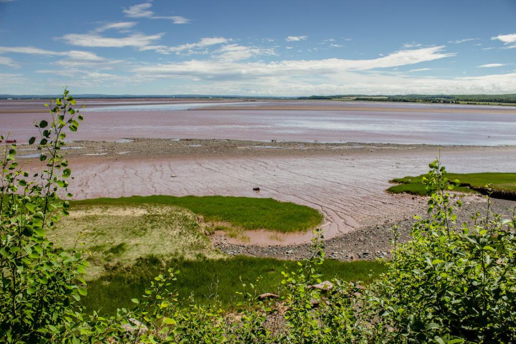 Tidal bore rafting in Nova Scotia, Canada