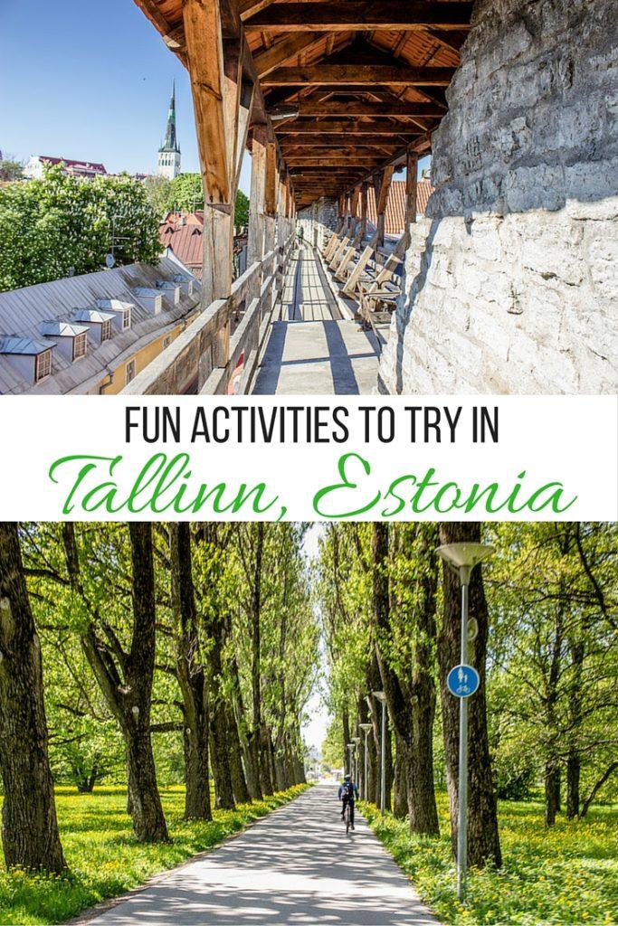 Fun activites to try in Tallinn, Estonia