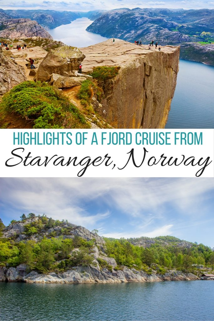 Highlights of a fjord cruise from Stavanger, Norway including famous Pulpit Rock