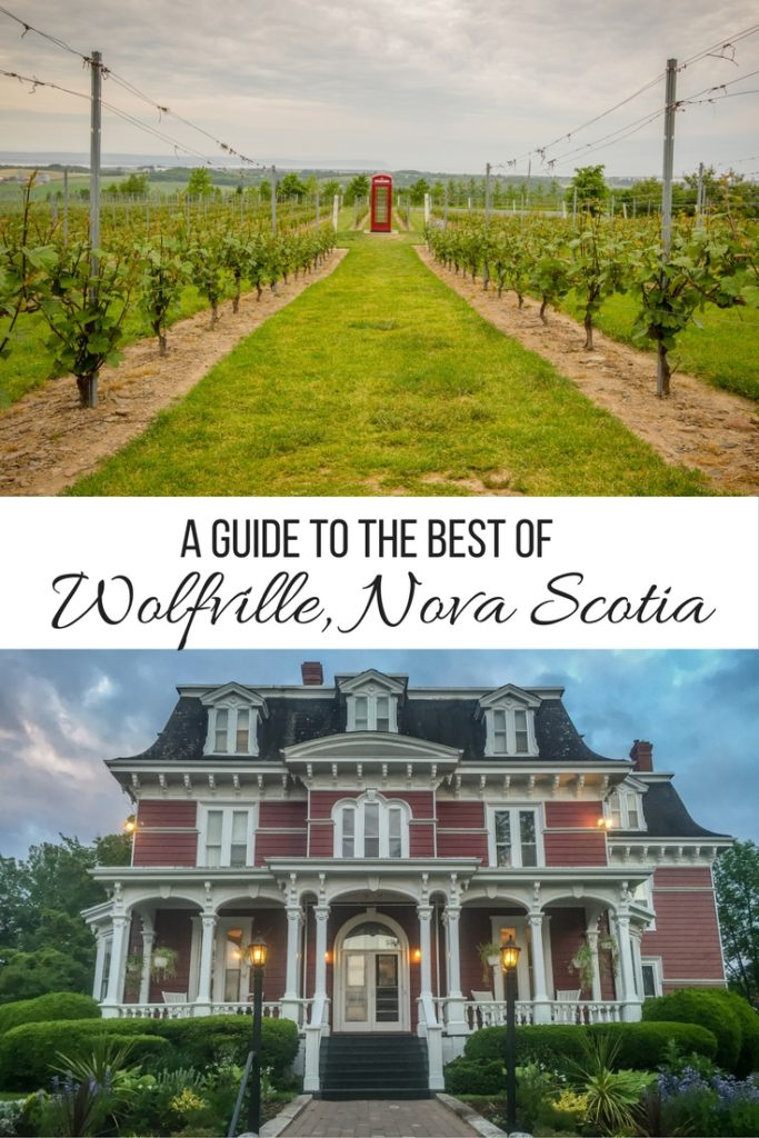 A guide to the best of Wolfville, Nova Scotia