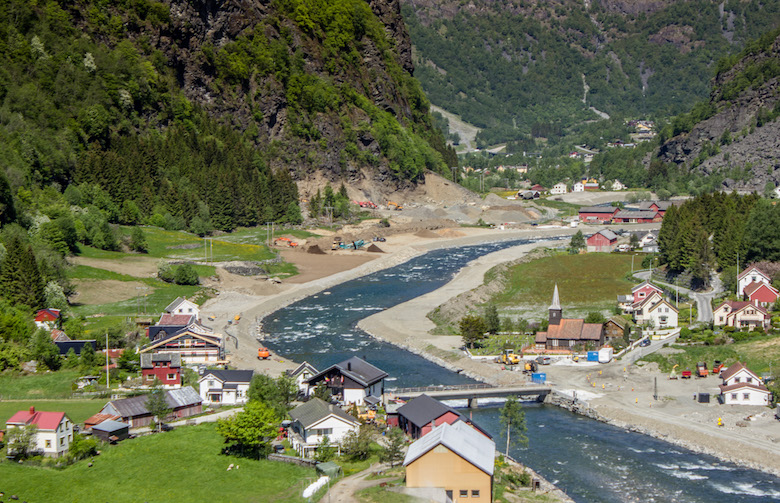 The Flam Railway in Norway and cycling trip down