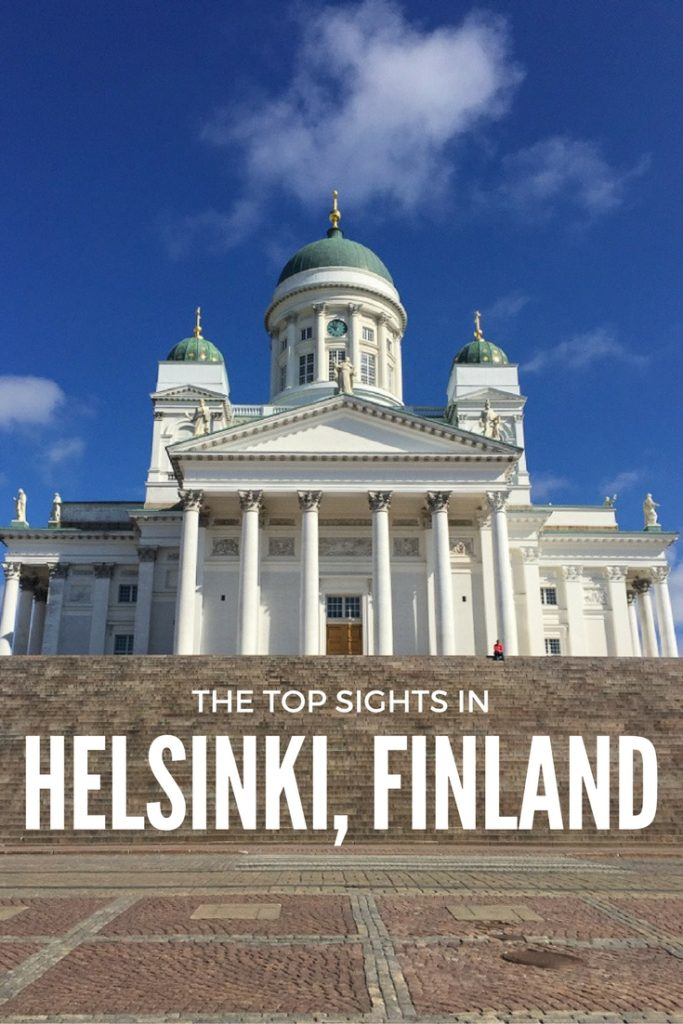The ultimate guide to the top sights in Helsinki, Finland including the Helsinki Cathedral