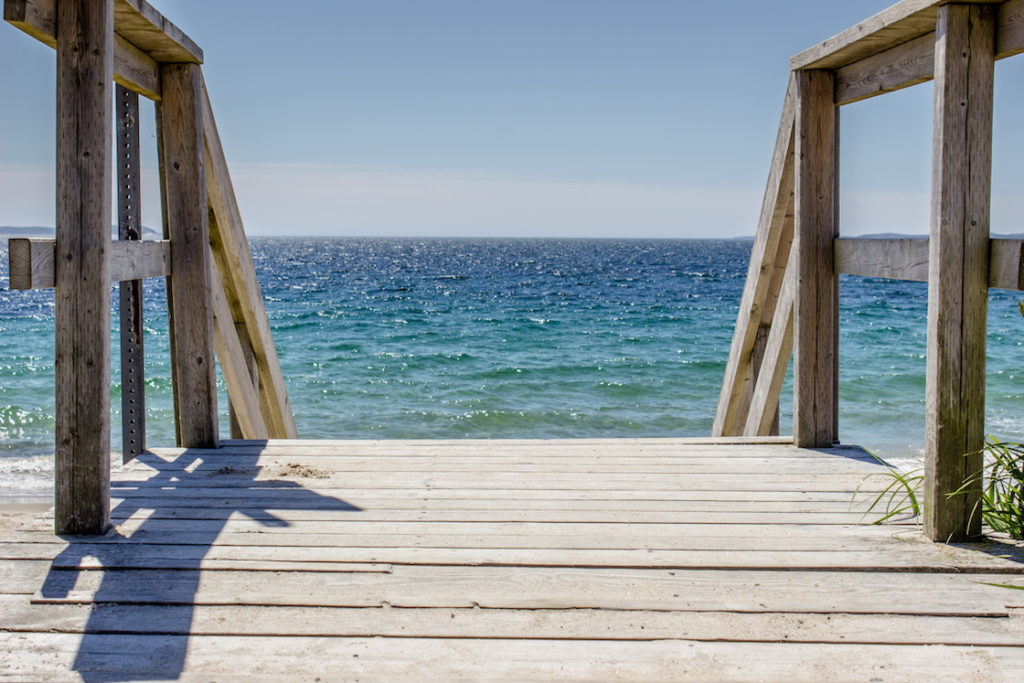 Queensland Beach, Nova Scotia, Canada