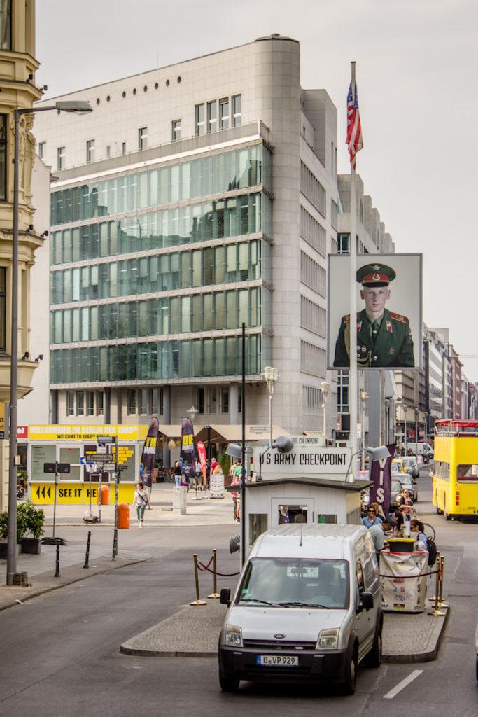 Checkpoint Charlie. Berlin, Germany