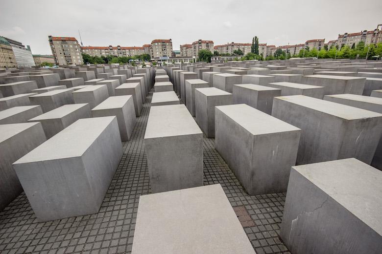 Memorial to the Murdered Jews of Europe (Denkmal für die ermordeten Juden Europas). Berlin, Germany