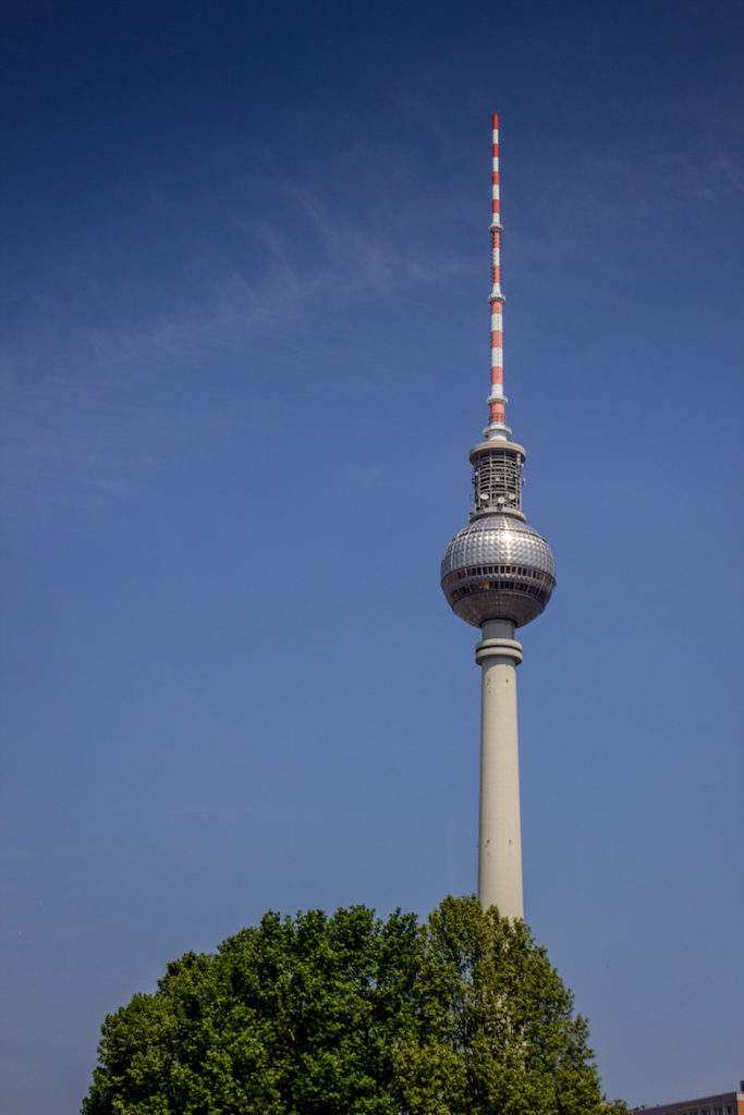 TV Tower (Fernsehturm). Berlin, Germany
