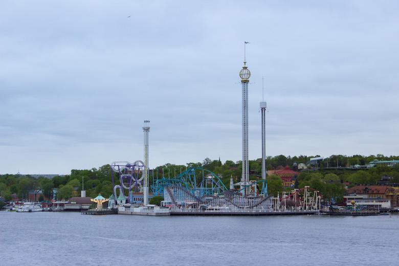Gröna Lund in Stockholm, Sweden
