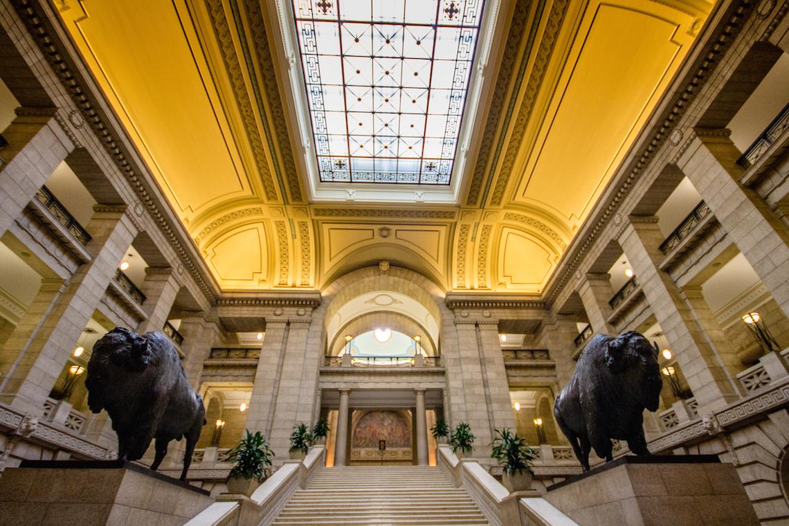 The Manitoba Legislative Building