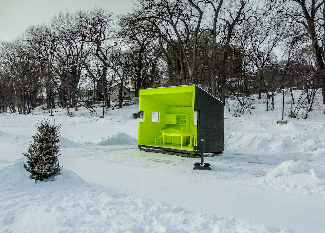 The Forks in Winnipeg, Manitoba