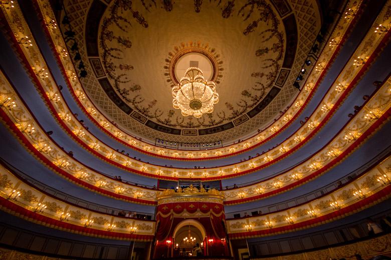 St Petersburg, Russia Alexandrinsky Theatre