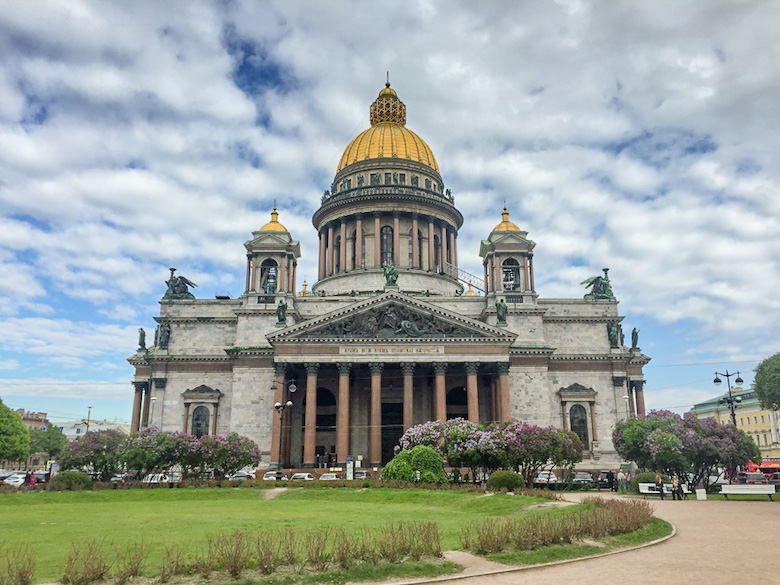 St. Isaac's Cathedral St Petersburg, Russia